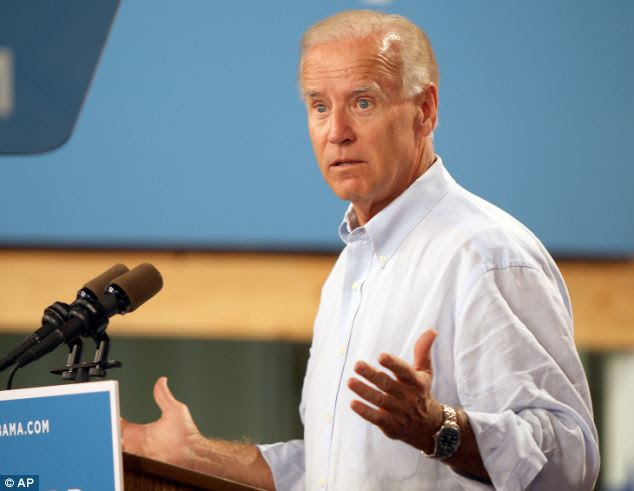 What did I say? Vice President Joe Biden introduced himself as Joe Bidenopoulos to a group of Greek men during a campaign stop in Warren, Ohio on Friday