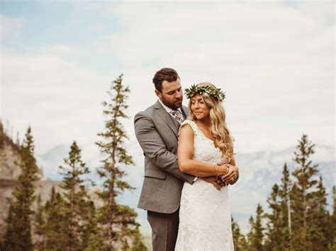 A Romantic, Boho Chic Wedding In Canmore, Alberta