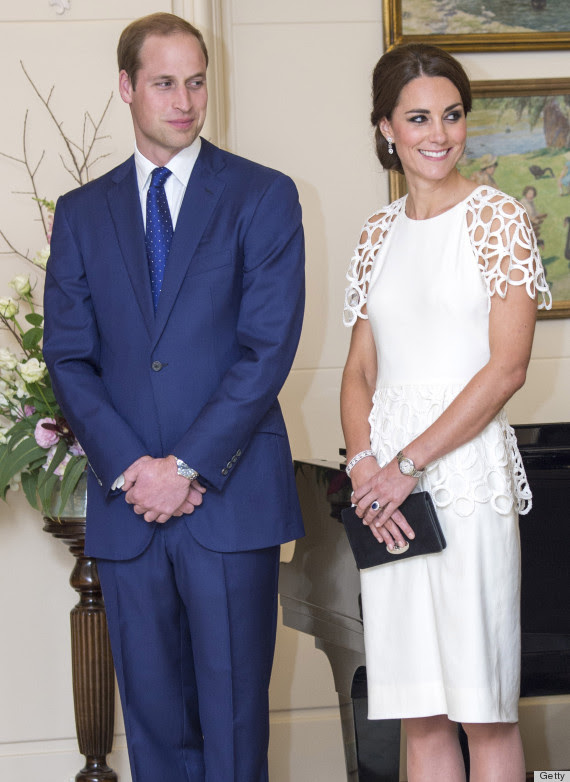 kate and will white dress