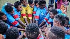 A saga brasileira de um time de futebol haitiano