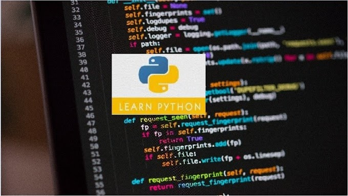 Udemy Free For Limited Time - Python 3.7 Bootcamp| Beginner to Intermediate level | A to Z