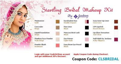Special Offer On Bridal  Makeup  Kits In India At
