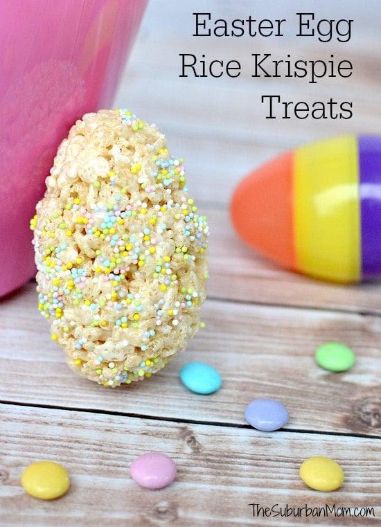 Easter Egg Rice Krispie Treats Recipe