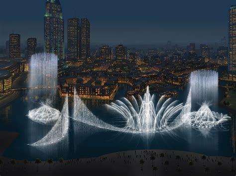 La Vie Digitale: The Dancing Fountain in Dubai