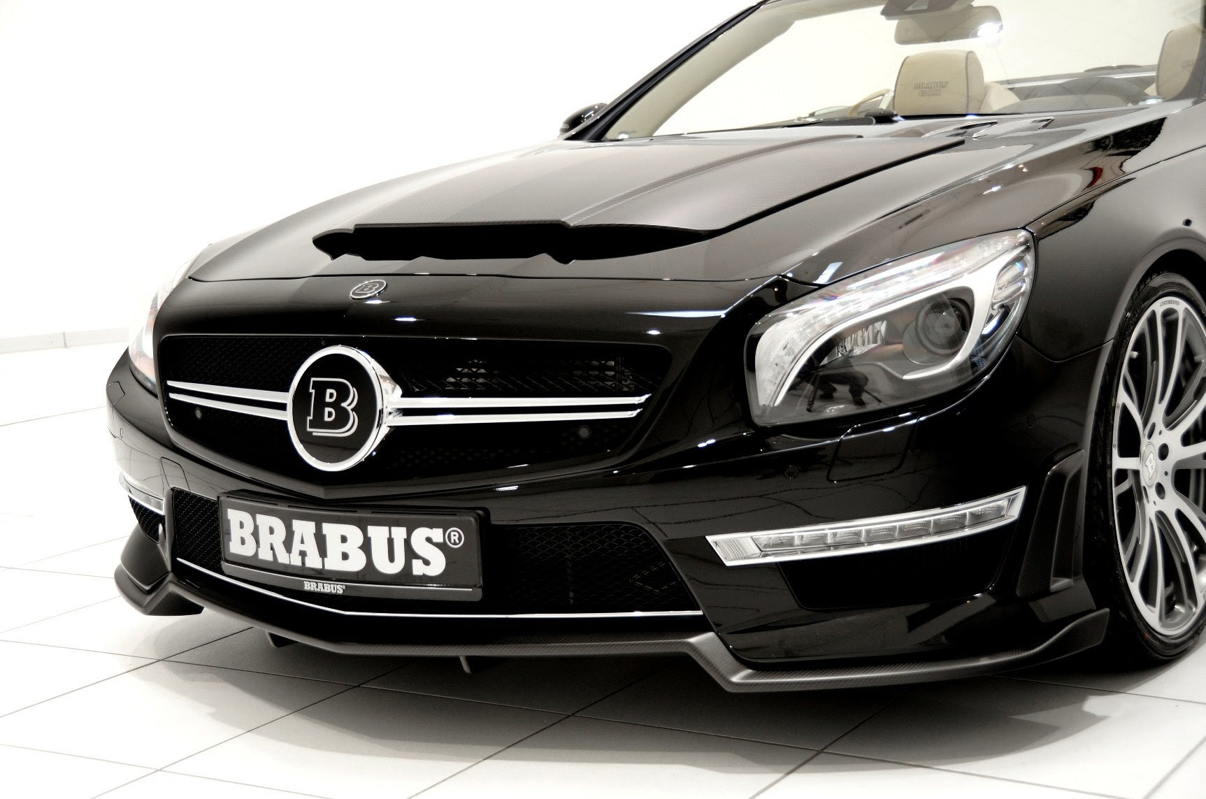 BRABUS 800 V12 Roadster for the Mercedes-Benz SL Is a ...