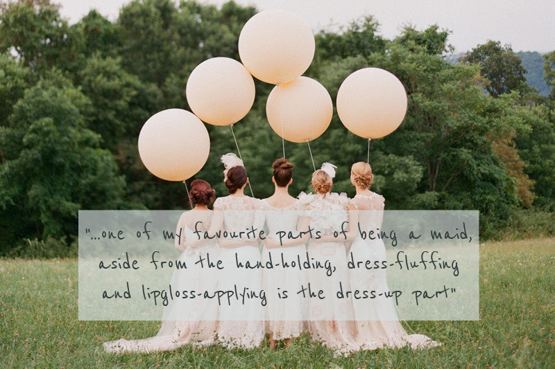 A Glamorous And Sophisticated Bridesmaids High Street Fashion And