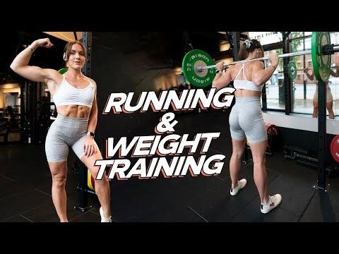 MY CURRENT WORKOUT SPLIT (running + weight training)