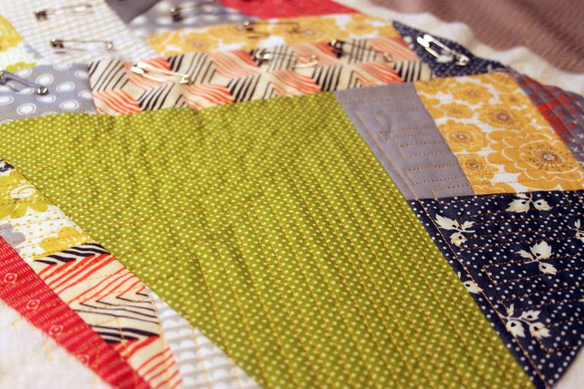 Improv piecing and quilting