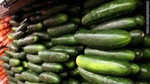 Salmonella potential prompts cucumber recall - CNN