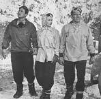 John Agar, Cynthia Patrick, and Hugh Beaumont