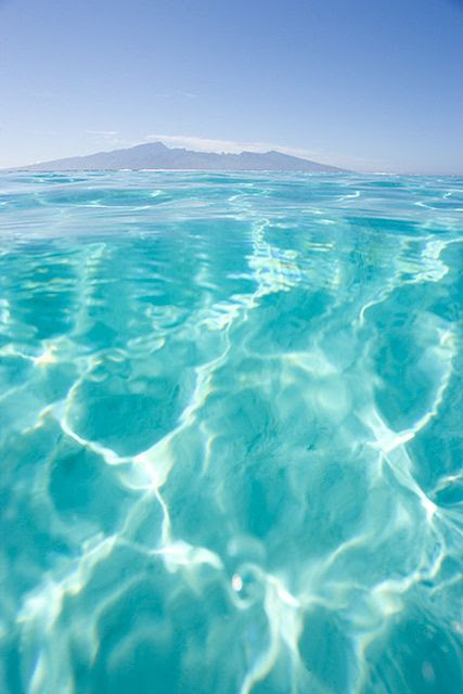 Crystal Clear Tahiti Waters... wanna go now!