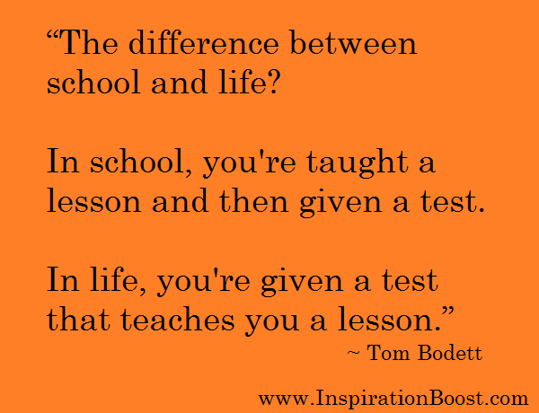 Quotes About Test In Life 118 Quotes