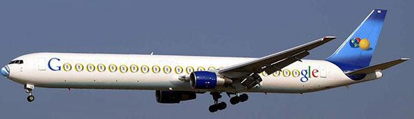 Avião do Google