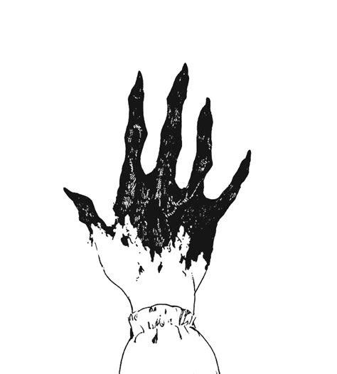 anime manga hand demon blackandwhite drawing aesthetic