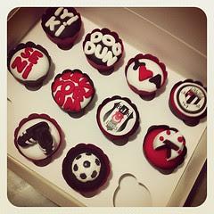 Beşiktaşlı Fanatik Cupcakeler