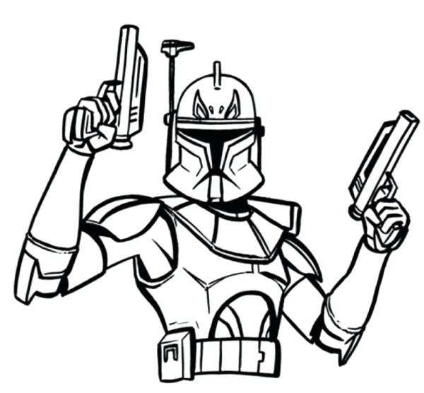 Clone Coloring Pages At Getdrawingscom Free For Personal Use