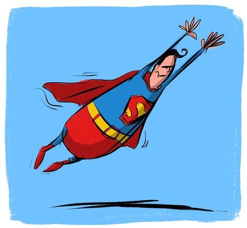 Superman - Man of Steel by Stefan Marjoram