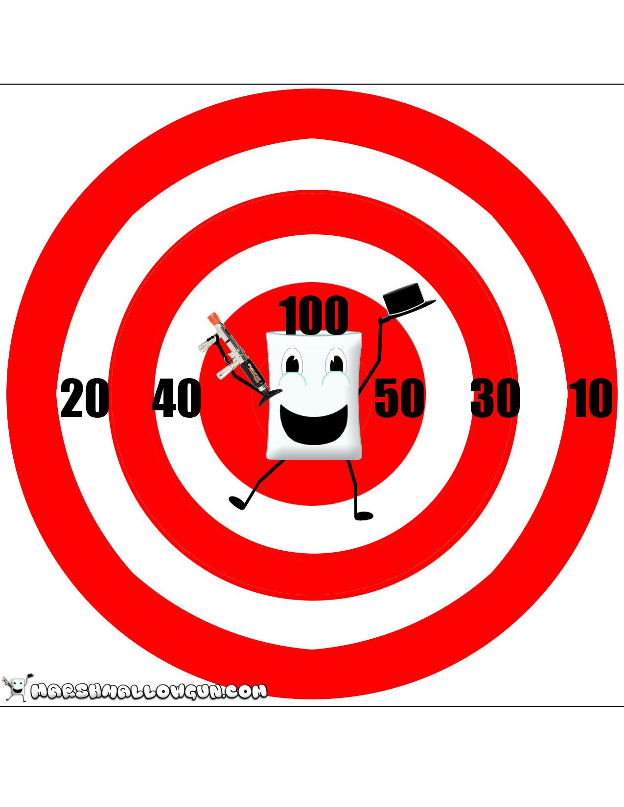 shooting targets - Google Search | nerf party | Pinterest | Clip ...