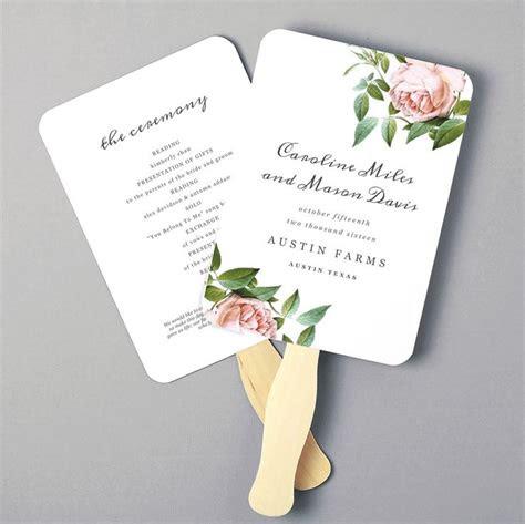 wedding program templates ideas  pinterest