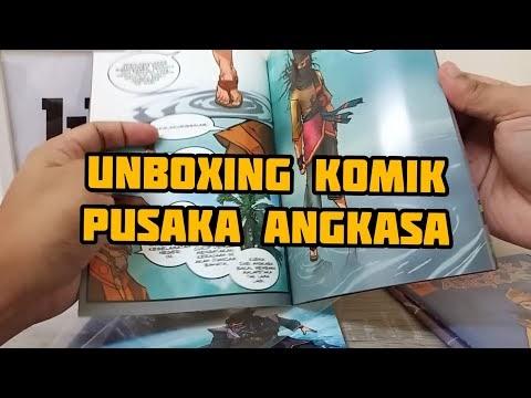 Unboxing Komik Pusaka Angkasa | Malaysian Comic