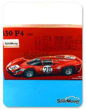 Maqueta de coche 1/24 Fujimi - Ferrari 330 P4 - Nº 26 - 24 Horas de Le Mans 1967 - maqueta de plástico + fotograbados