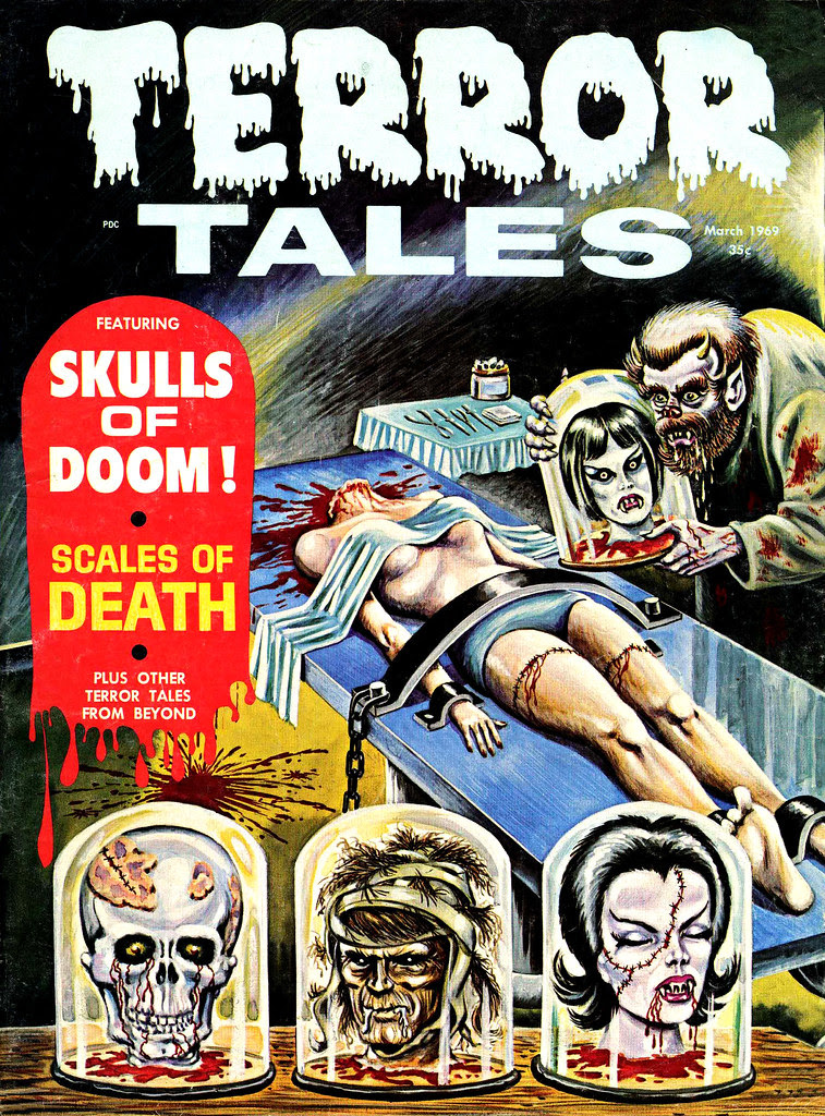 Terror Tales Vol. 01 #7 (Eerie Publications, 1969)