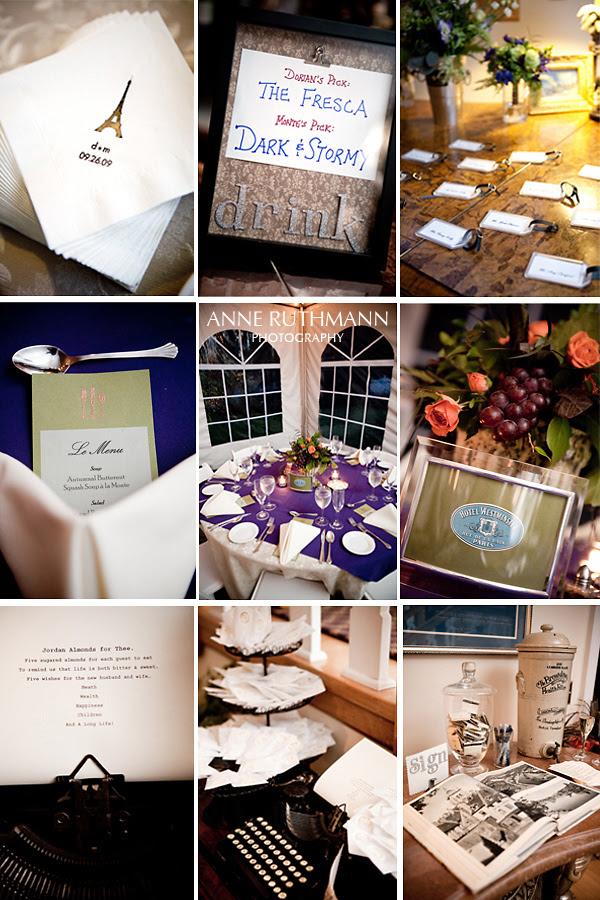 Real Wedding Reception Details