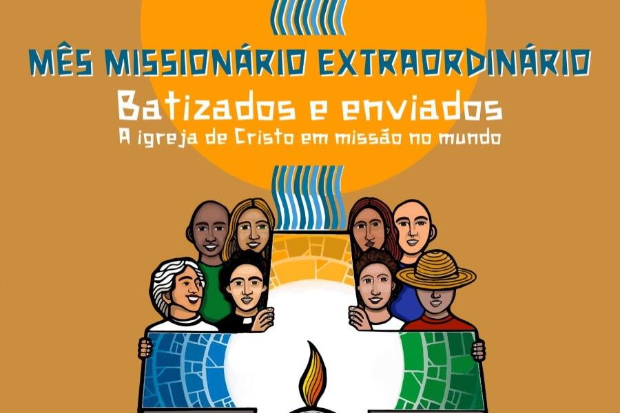 Resultado de imagem para Missão é partir até os confins do mundo batizados e enviados