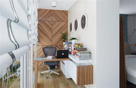 modern ideas  brighten  small office designs