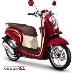 Scoopy FI Vogue Red