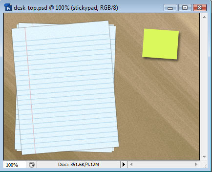 Creating a Desk-Top Composition image 12