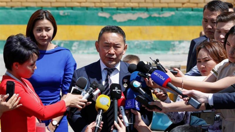 Image result for Battulga Wins Mongolian Election