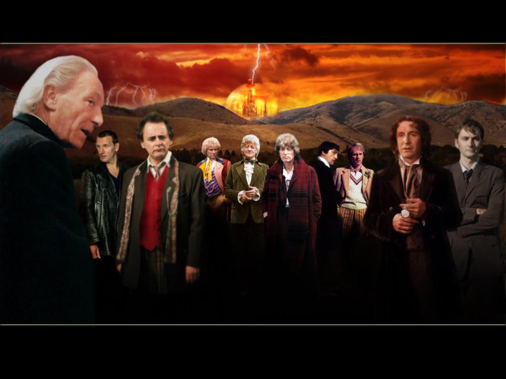 Doctors 1 10 Doctor Who Wallpaper 996733 Fanpop