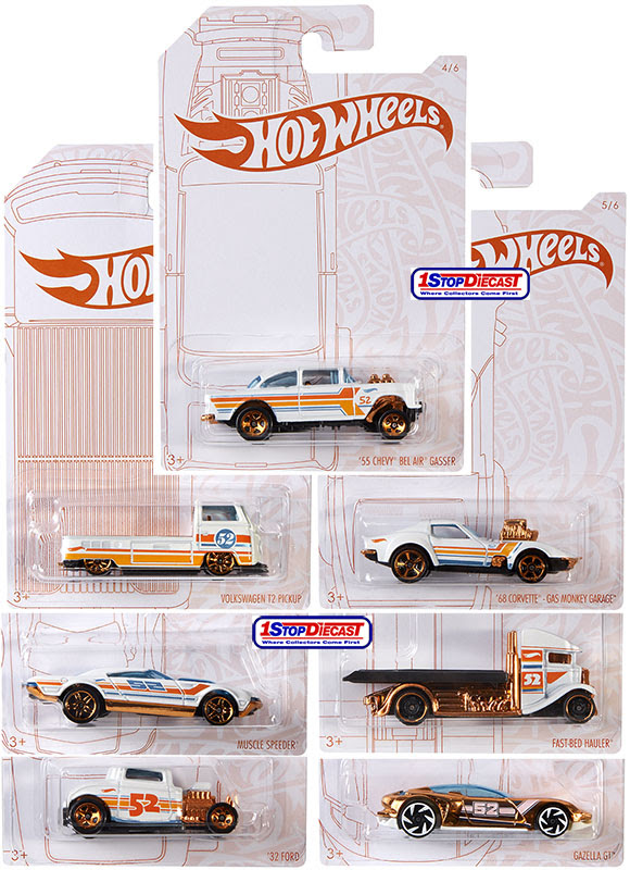 Hot Wheels 52nd Anniversary Pearl and Chrome Series 4//6  2020