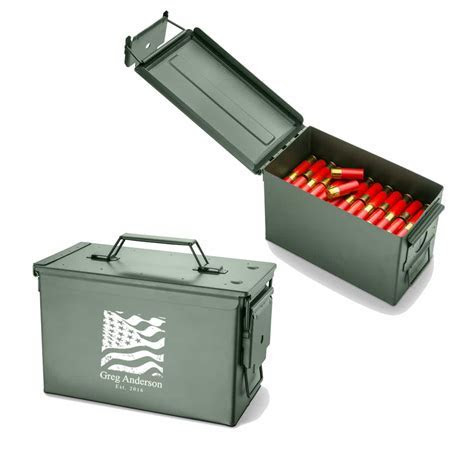Personalized Metal Ammo Box   The Man Registry