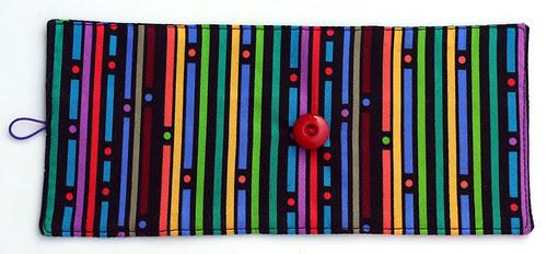 Crayon roll: backside