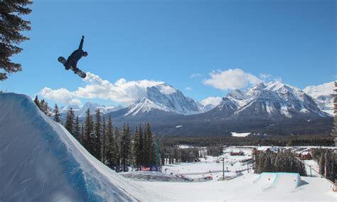 ski snowboard instructor training  banff canada gap