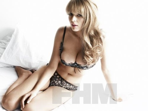 Keeley Hazell on FHM