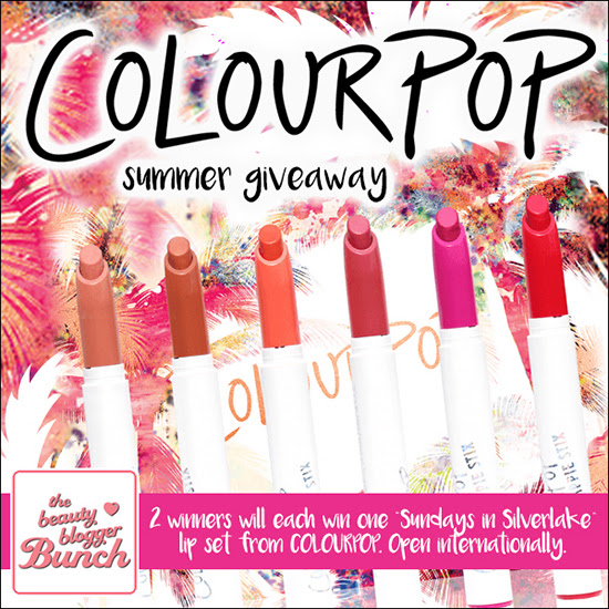 The Beauty Blogger Bunch Giveaway