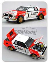 Maqueta de coche 1/24 Scuderia Italia.Lab - Toyota Celica TA64 Group B - Middle est version Marlboro - Nº 4 - kit Multimedia