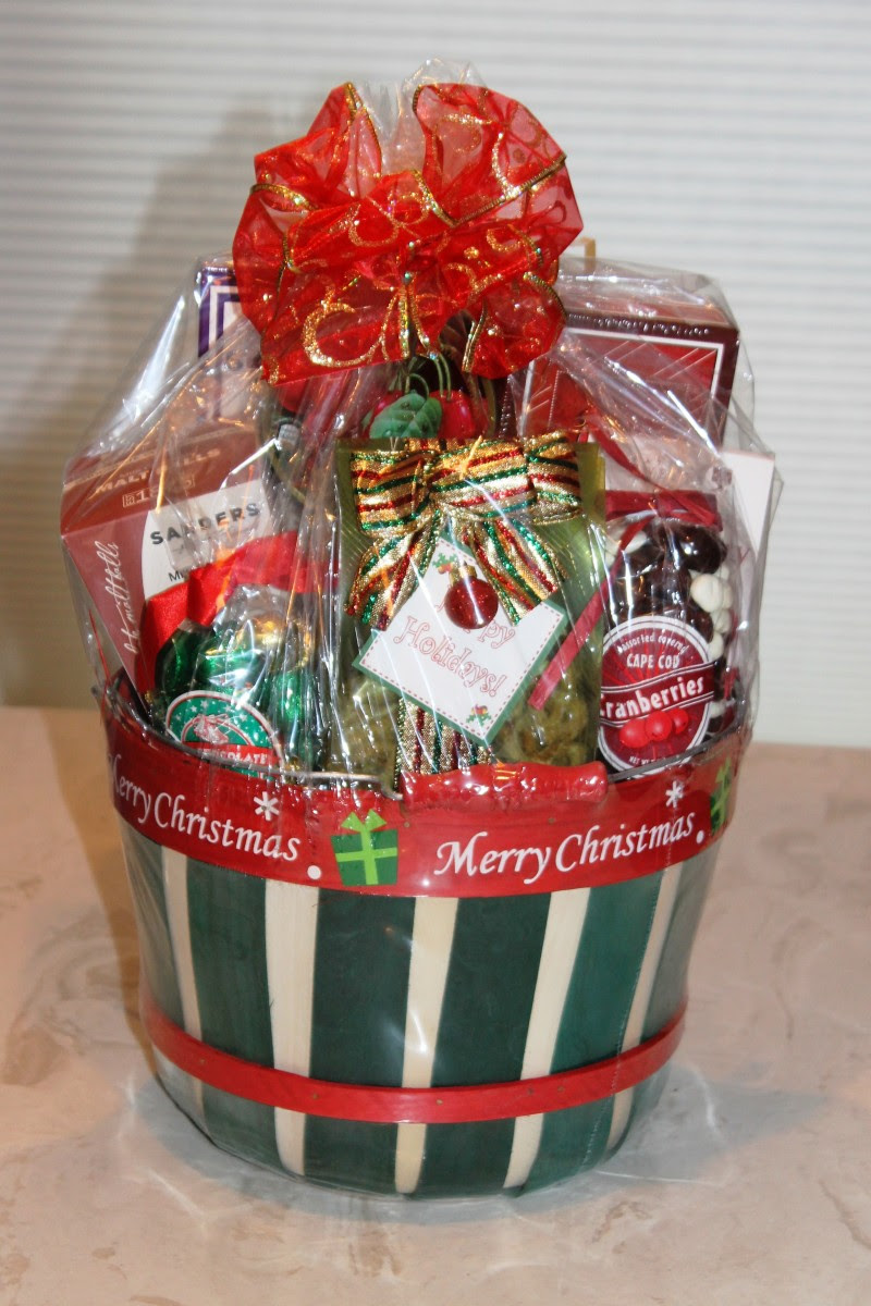 One of Many Holiday Basket Designs