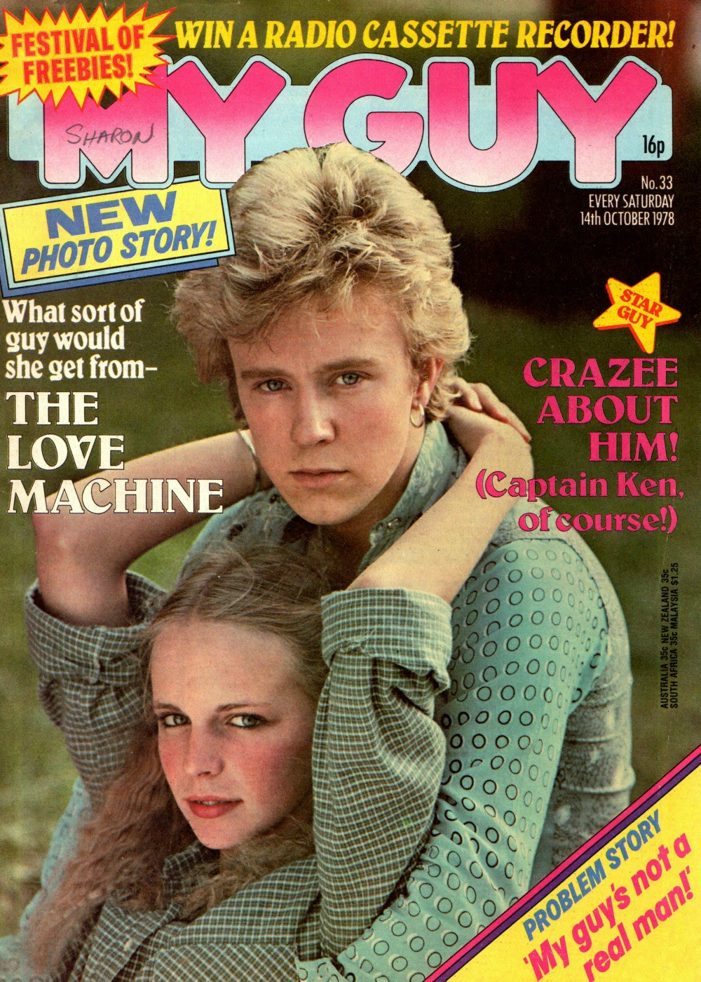 My Guy magazine, October 14th 1979