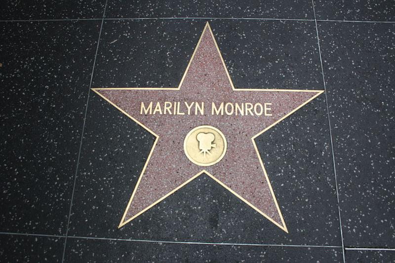 File:Marilyn Monroe's star 2011.jpg