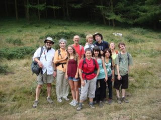 May family and friends on Aldotz hike