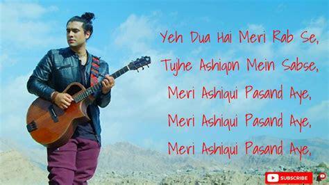 meri aashiqui pasand aye song meri aashiqui lyrics song