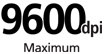 9600 DPI : Maximum print resolution - Realizes the maximum resolution of 9600 x 2400 dpi. Provide premium photo quality, combined with microscopic ink droplets.