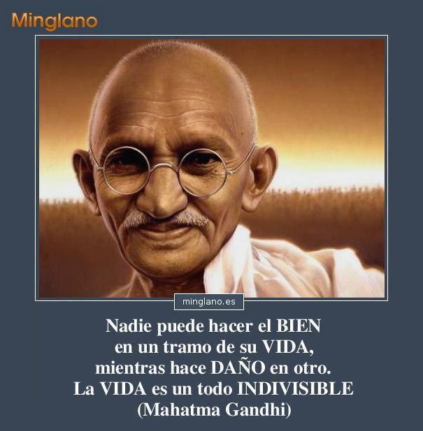 Frases De Mahatma Gandhi Sobre La Vida