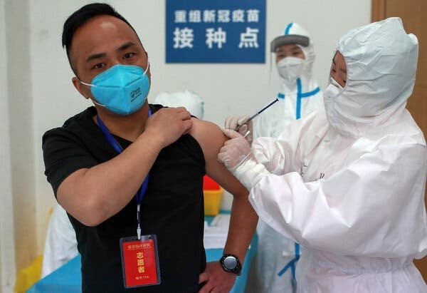 Vaccine Unproven? No Problem in China, Where People Scramble for Shots