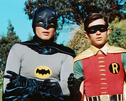 Batman - Adam West and Burt Ward
