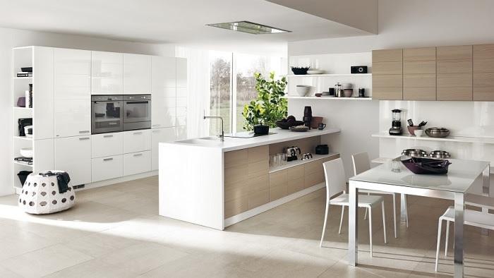 Moderne Küchen und modularer Wohnbereich von Scavolini